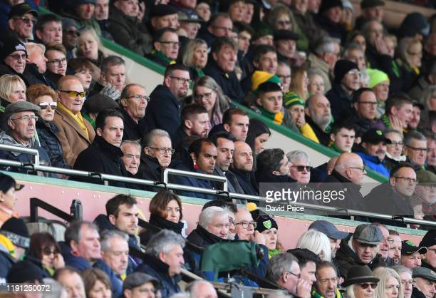 Josh Kroenke Arsenal Director during the Premier League match between Norwich City and Arsenal FC at Carrow Road on December 01 2019 in Norwich...