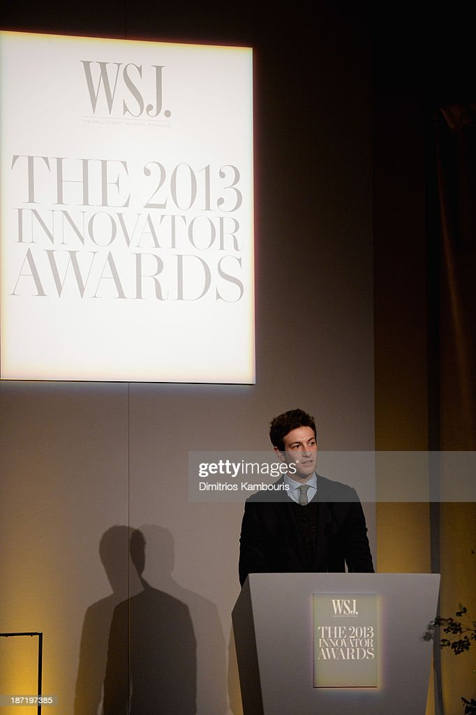 WSJ. Magazine's 'Innovator Of The Year' Awards 2013 - Inside : News Photo
