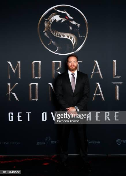 Josh Lawson attends the Sydney premiere of Mortal Kombat at Hoyts Entertainment Quarter on April 20, 2021 in Sydney, Australia.