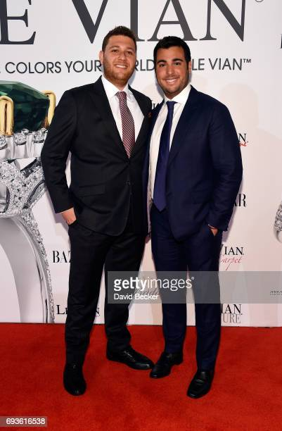 Josh LeVian and Jonathan LeVian attend the Le Vian 2018 Red Carpet Revue at the Mandalay Bay Convention Center on June 7 2017 in Las Vegas Nevada