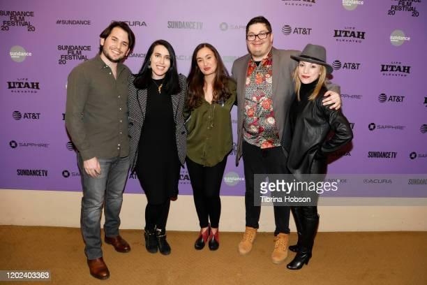 Josh Levion Alicia Herder Patricia Vidal Delgado Marcel Perez and Julianna Politsky attend the 2020 Sundance Film Festival La Leyenda Negra Premiere...
