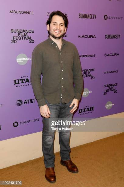 Josh Levion attends the 2020 Sundance Film Festival La Leyenda Negra Premiere at Egyptian Theatre on January 27 2020 in Park City Utah
