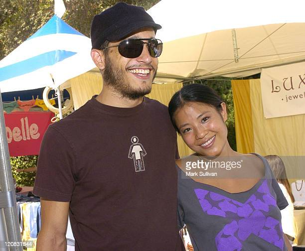 Josh Lovrin and Karin Anna Cheung during Silver Spoon Hollywood Buffet Day Two at Private Estate in Los Angeles California United States Photo by...