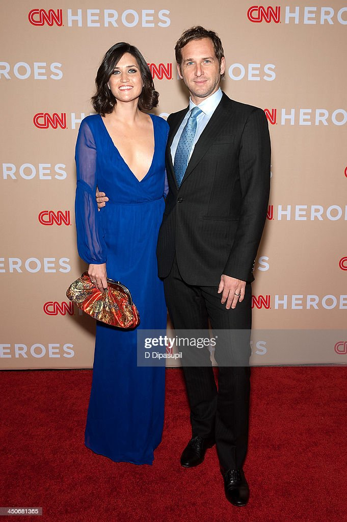Josh Lucas (R) and wife Jessica Ciencin Henriquez attend the 2013 CNN Heroes at the American Museum of Natural History on November 19, 2013 in New York City.