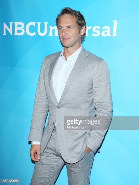 Josh Lucas arrives at NBCUniversal's 2014 Summer TCA Tour Day 1 held at The Beverly Hilton Hotel on July 13 2014 in Beverly Hills California