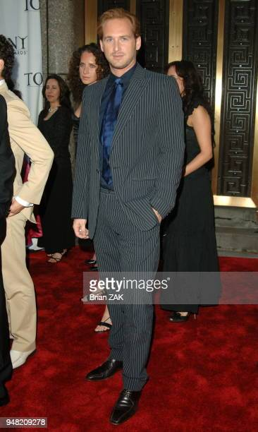 Josh Lucas arrives to the 60th Annual Tony Awards held at Radio City Music Hall New York City BRIAN ZAK