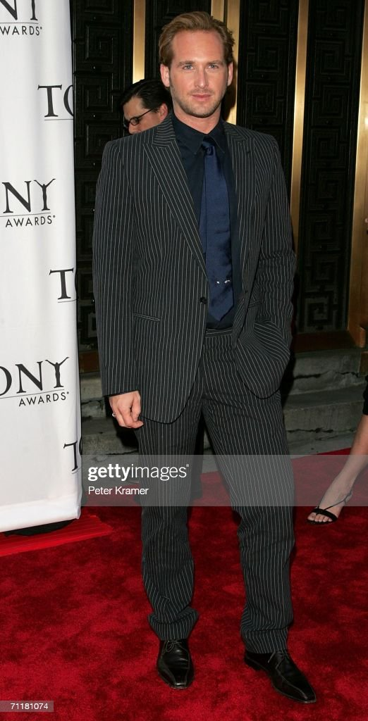 Josh Lucas attends the 60th Annual Tony Awards at Radio City Music Hall June 11, 2006 in New York City.