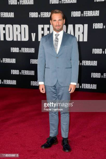 "Josh Lucas attends the Premiere of FOX's ""Ford V Ferrari"" at TCL Chinese Theatre on November 04, 2019 in Hollywood, California."