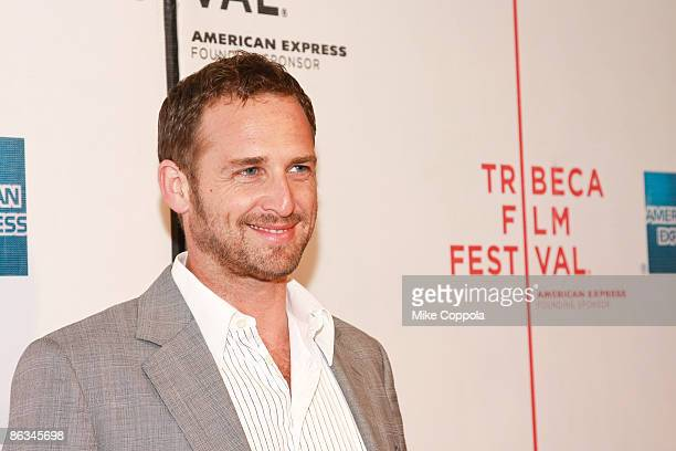 """Josh Lucas attends the premiere of """"Poliwood"""" during the 8th Annual Tribeca Film Festival at the BMCC Tribeca Performing Arts Center on May 1, 2009..."""