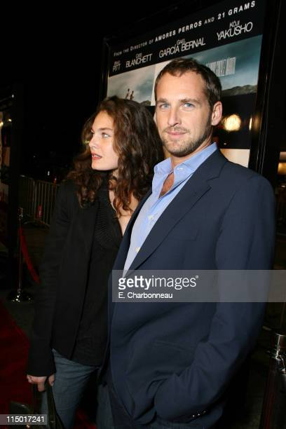 "Josh Lucas during Special Presentation of Paramount Vantage's ""Babel"" at Mann Village Theatre in Westwood, CA, United States."