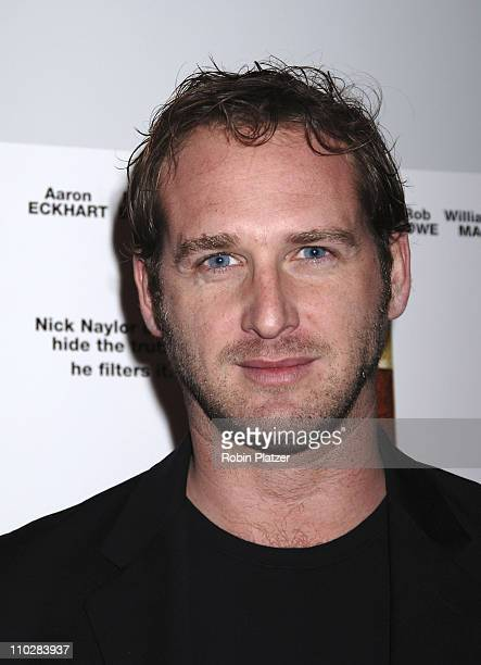 "Josh Lucas during ""Thank You For Smoking"" New York Premiere - Inside Arrivals - March 12, 2006 at Museum of Modern Art in New York City, NY, United..."