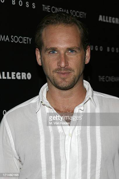 "Josh Lucas during The Cinema Society and Hugo Bross Present the Premiere of ""Allegro"" at Tribeca Grand/Soho Grand in New York, New York, United..."