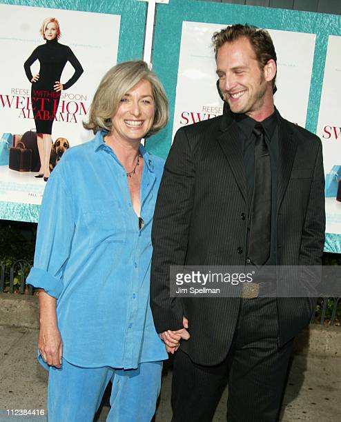 "Josh Lucas & his mother during ""Sweet Home Alabama"" Premiere - New York at Chelsea West Cinema in New York City, New York, United States."