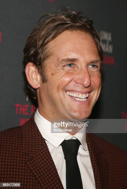 Josh Lucas poses at The Opening Night Party for 'The Parisian Woman' on Broadway at Sardis on November 30 2017 in New York City