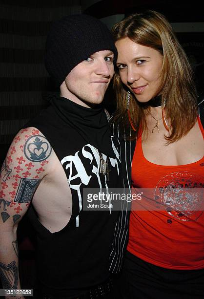 Josh Madden and Dana Dynamite during Maxim and Ben Sherman MAGIC Party at Forty Deuce in Las Vegas Nevada United States