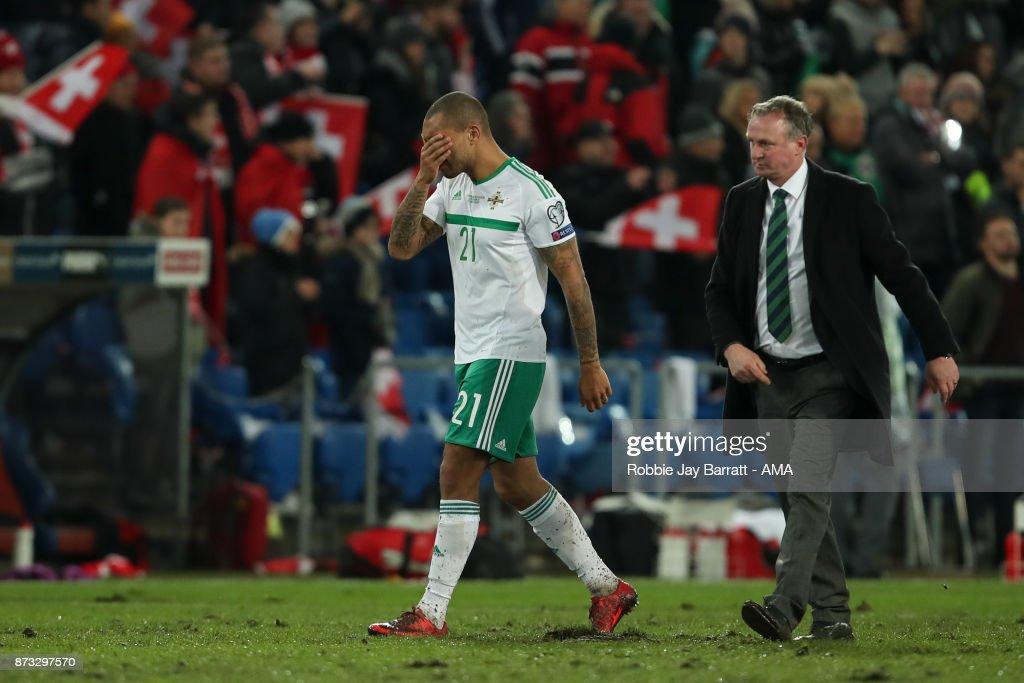 Switzerland v Northern Ireland - FIFA 2018 World Cup Qualifier Play-Off: Second Leg