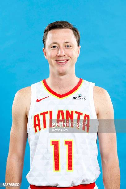 Josh Magette of the Atlanta Hawks poses for a head shot during Media Day on September 25 2017 at Four Season Hotel in Atlanta Georgia NOTE TO USER...