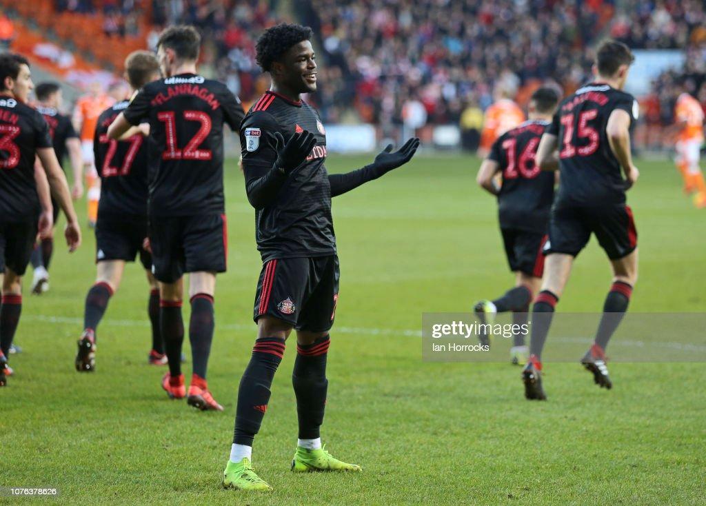 Blackpool v Sunderland - Sky Bet League One : News Photo
