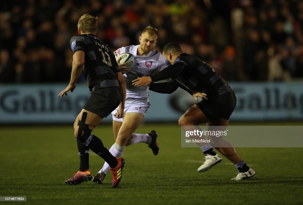 Newcastle Falcons v Gloucester Rugby - Gallagher Premiership Rugby : News Photo
