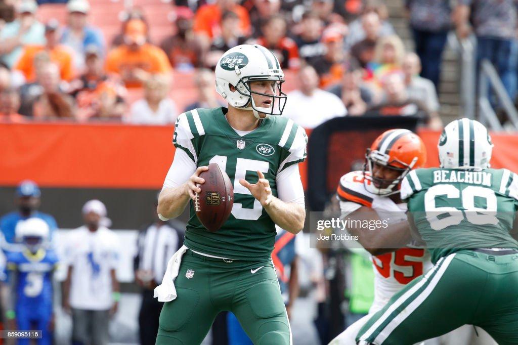 New York Jets v Cleveland Browns : News Photo