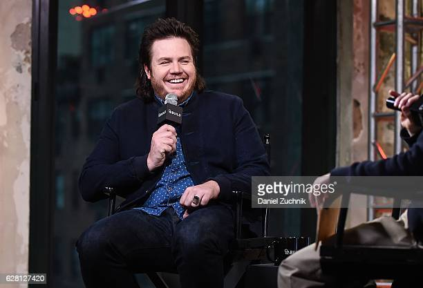 Josh McDermitt attends AOL Build to discuss the show 'The Walking Dead' at AOL HQ on December 6 2016 in New York City
