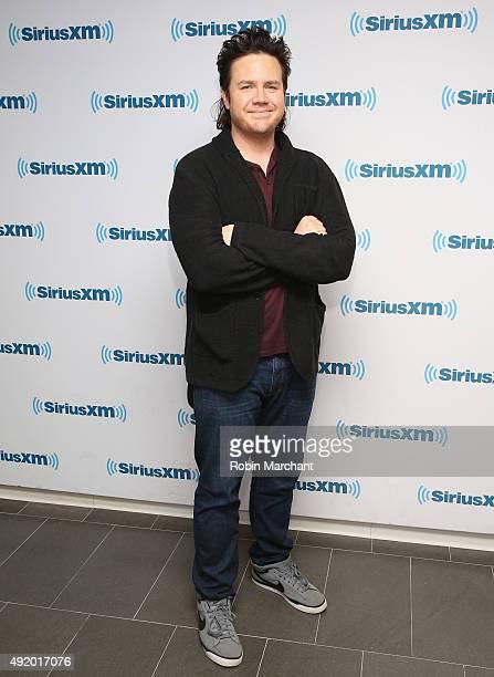 Josh McDermitt visits at SiriusXM Studios on October 9, 2015 in New York City.