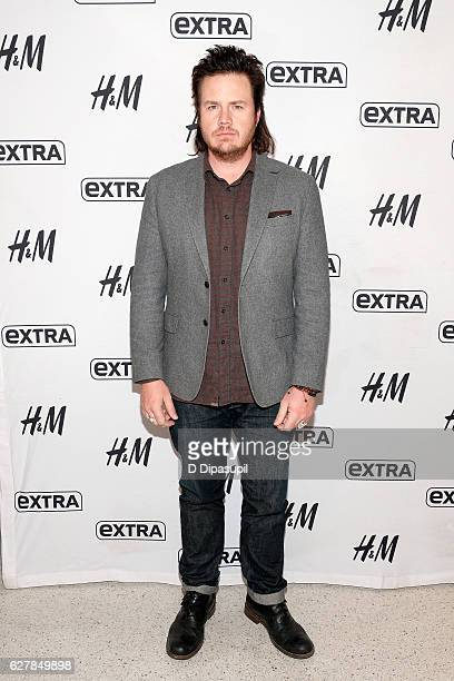 Josh McDermitt visits 'Extra' at their New York studios at HM in Times Square on December 5 2016 in New York City