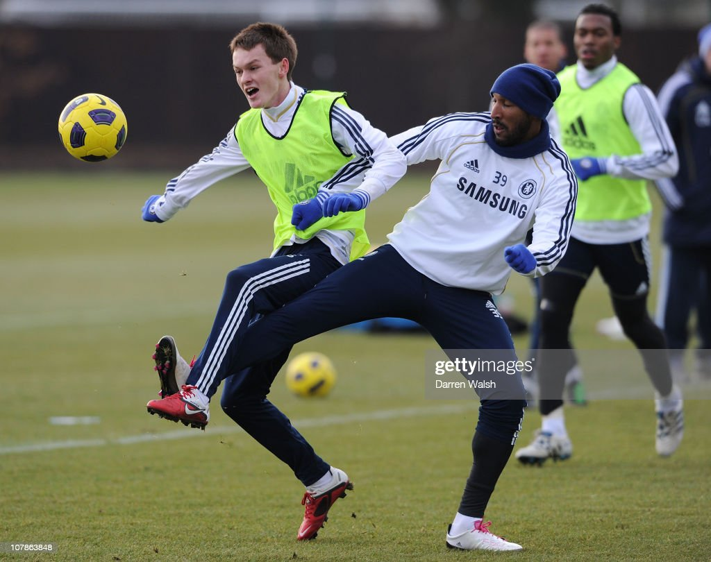 Chelsea FC Training Session