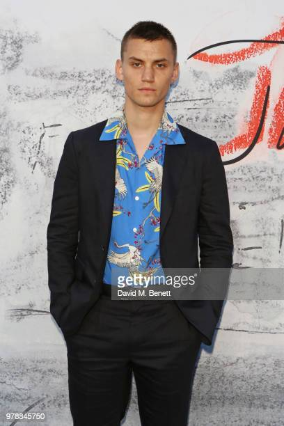 Josh McLellan attends the Serpentine Summper Party 2018 at The Serpentine Gallery on June 19 2018 in London England