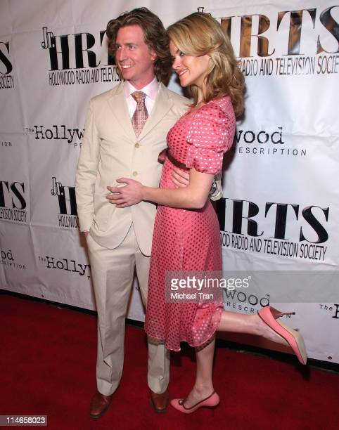 """Josh Meyers and Missi Pyle during Junior Hollywood Radio & Television Society Presents The 3rd Annual """"Young Hollywood"""" Holiday Party - Arrivals at..."""
