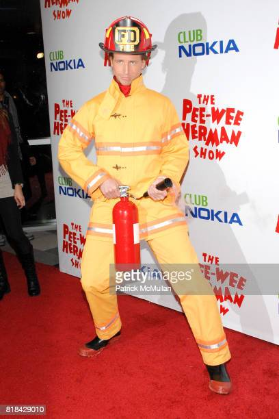 Josh Meyers attends The Pee Wee Herman Show Opening Night at Club Nokia on January 20 2010 in Los Angeles California