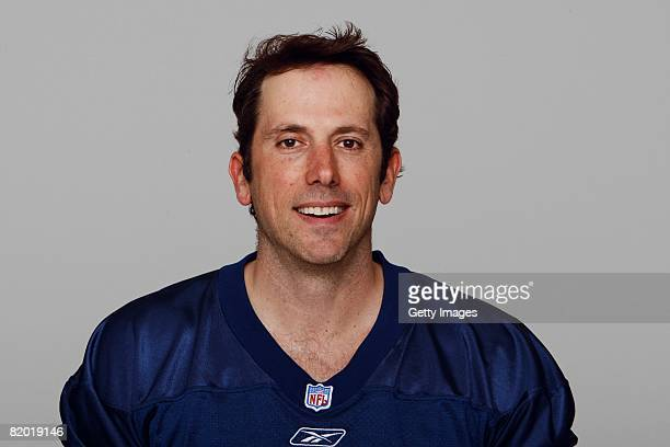 Josh Miller of the Tennessee Titans poses for his 2008 NFL headshot at photo day in Nashville Tennessee