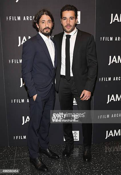 Josh Mond and Christopher Abbott attend opening night of MOMA's Eighth Annual Contenders featuring The Film Arcade's JAMES WHITE on November 10 2015...