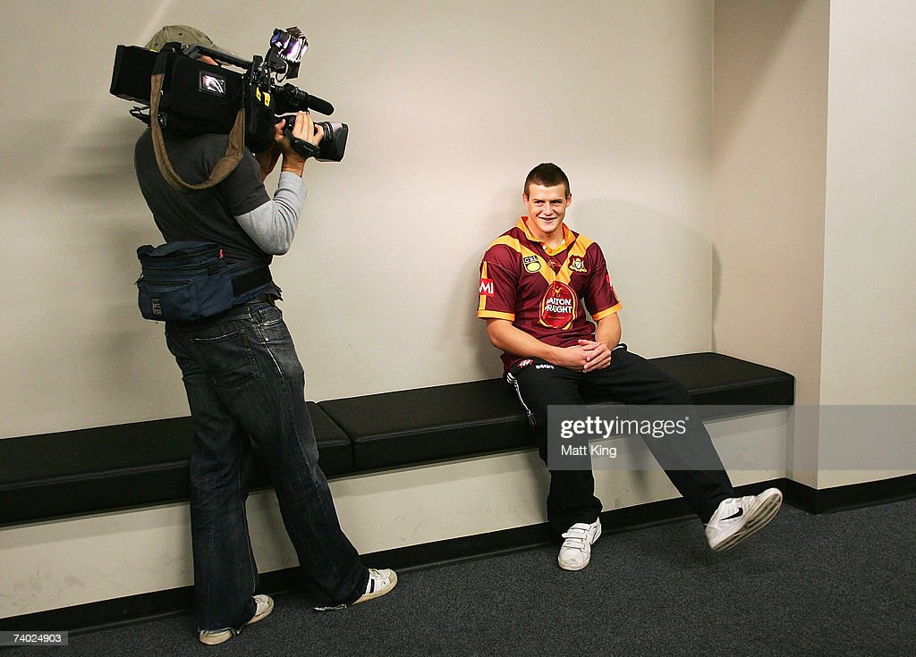 Josh Morris poses during the Country Origin team assembly at Aussie Stadium on April 30, 2007 in Sydney, Australia.