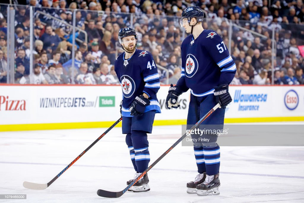 Colorado Avalanche v Winnipeg Jets : News Photo