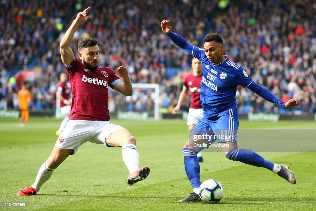 Cardiff City v West Ham United - Premier League : News Photo
