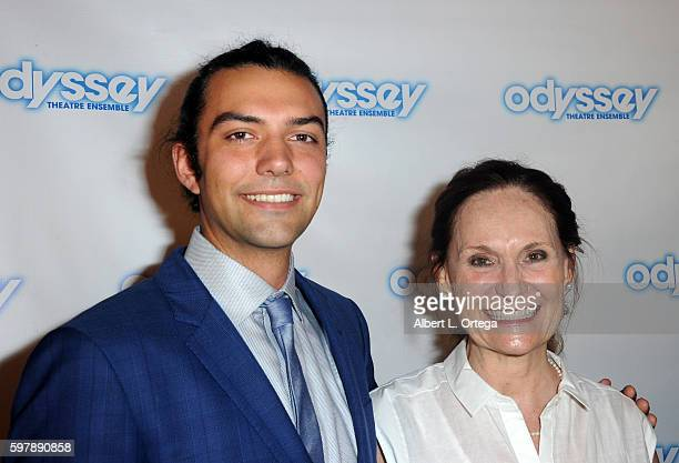 Josh Nelson and actress Beth Grant arrive for the Reading Of 'The Blade Of Jealousy/La Celsa De Misma' held at The Odyssey Theatre on August 29 2016...