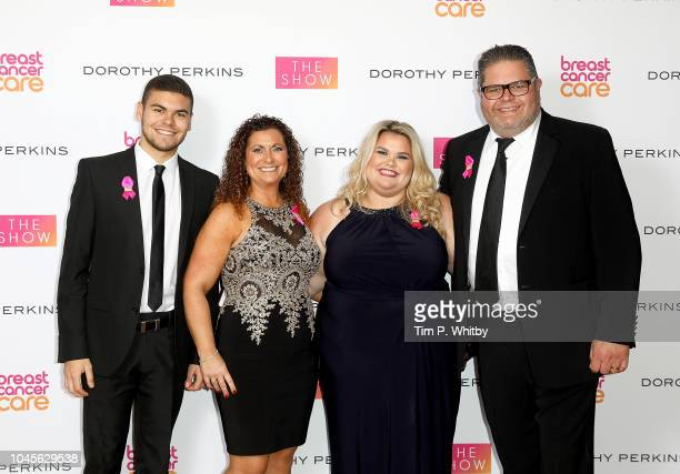 Josh Nikki Amy and Jonathan Tapper attend the Breast Cancer Care London Fashion Show in association with Dorothy Perkins at Park Plaza Westminster...