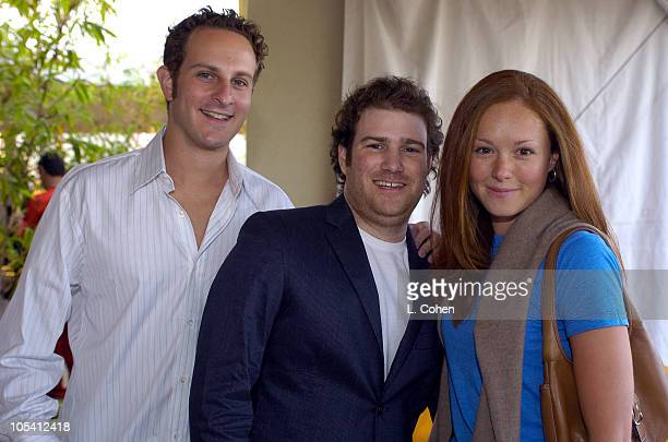 Josh Novodor Josh Greenly and Amber Barretto during Raffles L'Ermitage Beverly Hills 5th Anniversary Celebration at Raffles L'Ermitage Beverly Hills...
