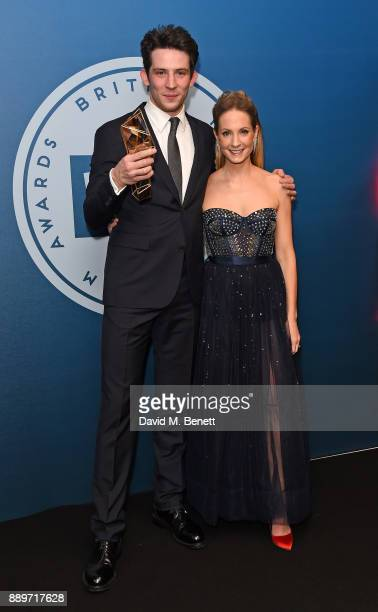 Josh O'Connor and Joanne Froggatt attend the British Independent Film Awards held at Old Billingsgate on December 10 2017 in London England