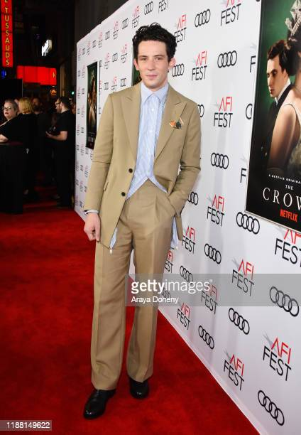Josh O'Connor attends AFI Fest The Crown Peter Morgan Tribute at TCL Chinese Theatre on November 16 2019 in Hollywood California