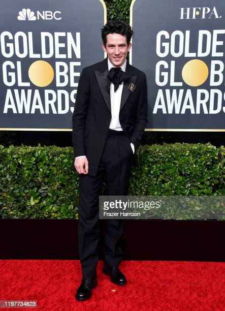Josh O'Connor attends the 77th Annual Golden Globe Awards at The Beverly Hilton Hotel on January 05 2020 in Beverly Hills California