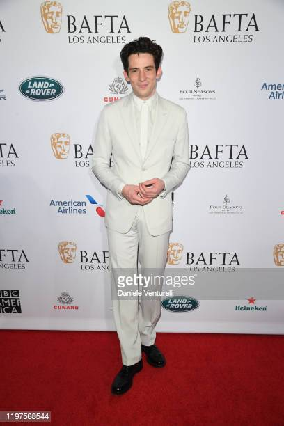 Josh O'Connor attends The BAFTA Los Angeles Tea Party at Four Seasons Hotel Los Angeles at Beverly Hills on January 04 2020 in Los Angeles California