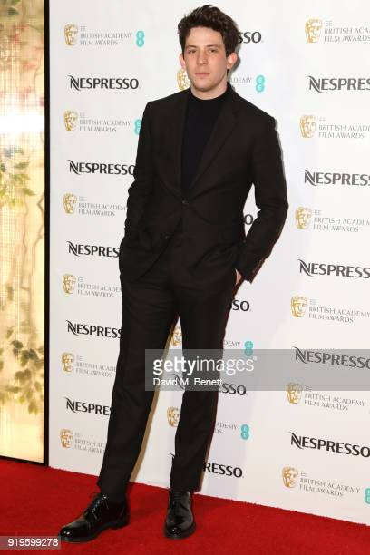 Josh O'Connor attends the British Academy Film Awards Nominees Party at Kensington Palace on February 17 2018 in London England