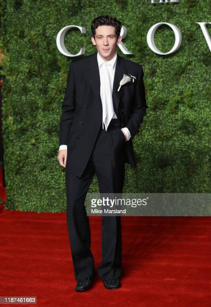 Josh O'Connor attends The Crown Season 3 world premiere at The Curzon Mayfair on November 13 2019 in London England