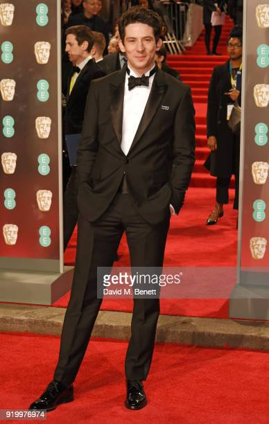 Josh O'Connor attends the EE British Academy Film Awards held at Royal Albert Hall on February 18 2018 in London England