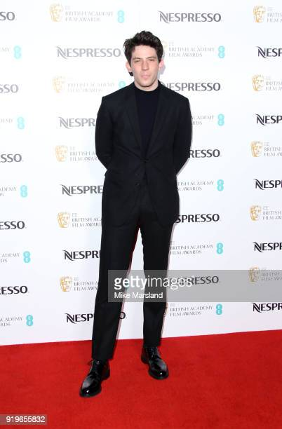 Josh O'Connor attends the EE British Academy Film Awards nominees party at Kensington Palace on February 17 2018 in London England