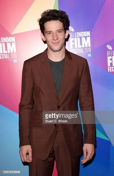 Josh O'Connor attends the European Premiere of Only You during the 62nd BFI London Film Festival on October 19 2018 in London England