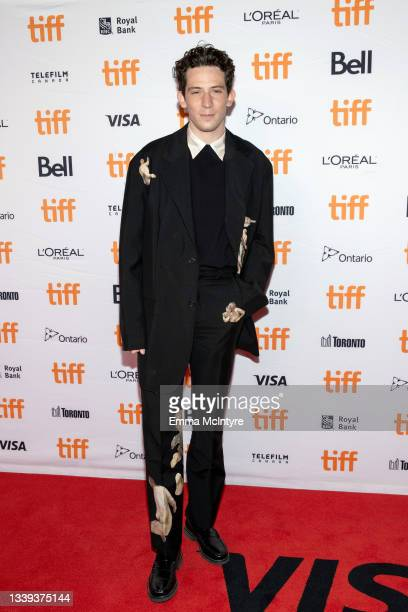 """Josh O'Connor attends the """"Mothering Sunday"""" Premiere during the 2021 Toronto International Film Festival at Princess of Wales Theatre on September..."""