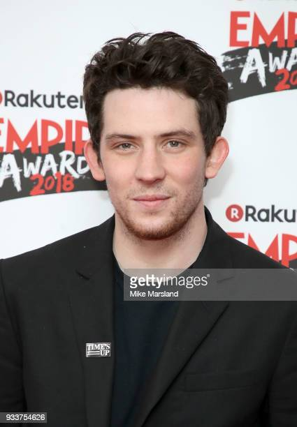 Josh O'Connor attends the Rakuten TV EMPIRE Awards 2018 at The Roundhouse on March 18 2018 in London England